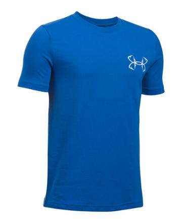 Under Armour Boys' Ua Big Mouth Strikes Short Sleeve T-shirt