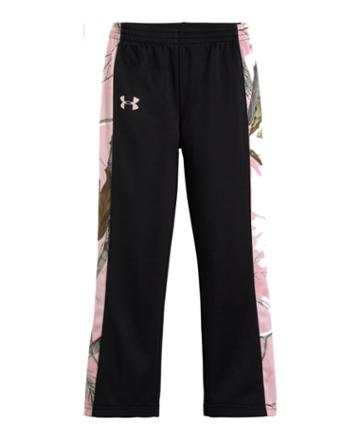 Under Armour Girls' Pre-school Ua Armour Fleece Real Tree Pant