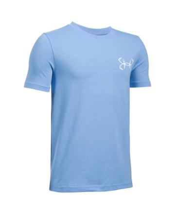 Under Armour Boys' Ua Marlin Strikes Short Sleeve T-shirt