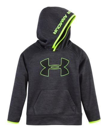 Under Armour Boys' Pre-school Ua Armour Fleece Twist Highlight Hoodie