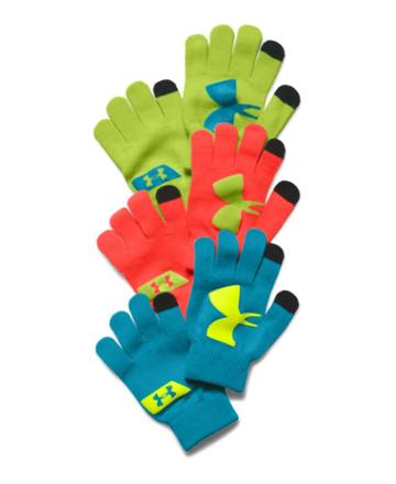 Under Armour Boys' Ua Chillz Neon Gloves 3-pack