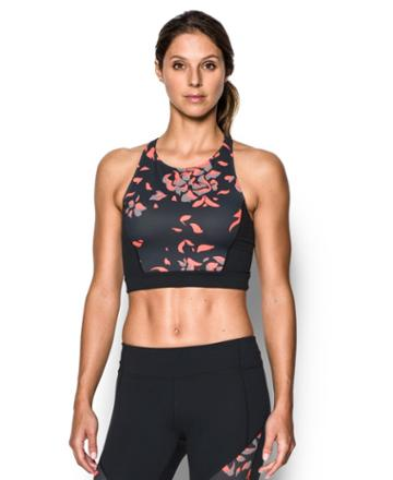 Under Armour Women's Ua Mirror Printed Crop Top