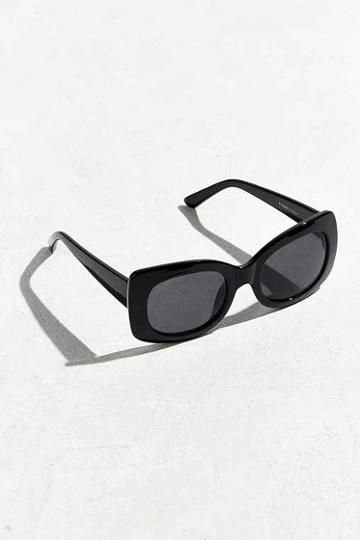 Urban Outfitters Chunky Square Sunglasses,black,one Size