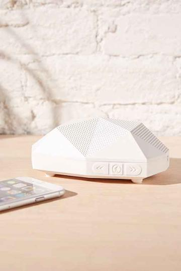 Urban Outfitters Outdoor Tech Turtle Shell 2.0 Bluetooth Speaker,white,one Size