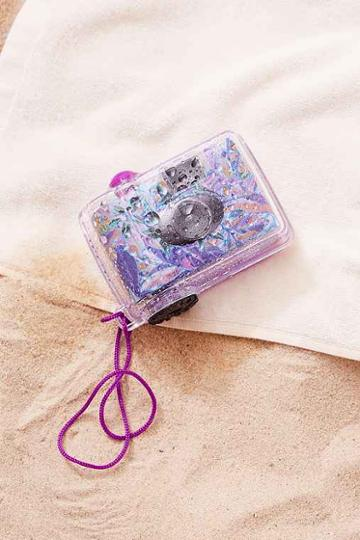 Urban Outfitters Underwater Disposable Camera,purple,one Size