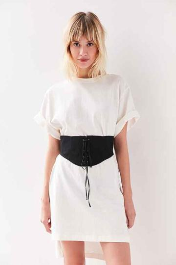 Urban Outfitters Coco Corset Belt,black,s