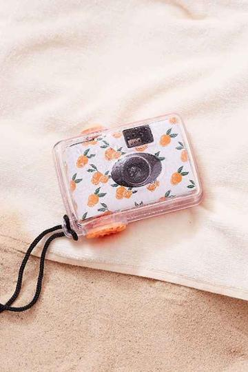 Urban Outfitters Underwater Disposable Camera,orange,one Size