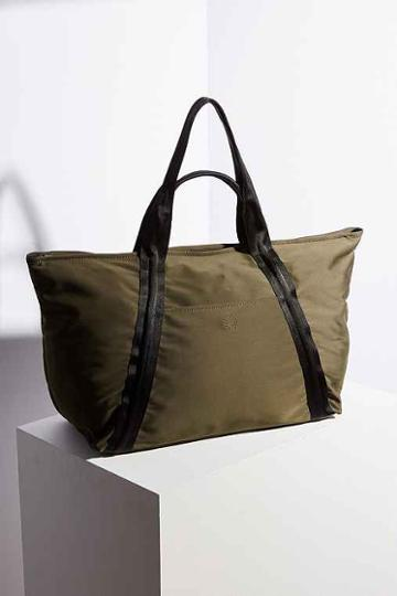 Urban Outfitters Flynn Long Weekender Bag,green,one Size