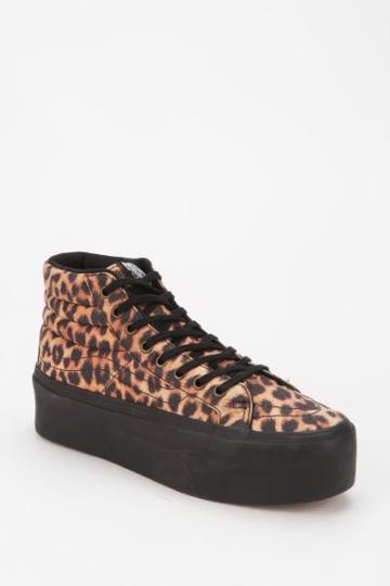 Vans Sk8-hi Leopard Women's High-top Platform-sneaker