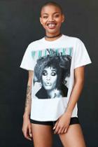 Urban Outfitters Whitney Houston Tee,white,m