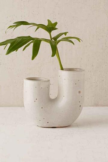 Urban Outfitters Ikebana Vase,cream,one Size