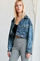 Urban Renewal Vintage Guess By Marciano '80s Cropped Denim Jacket