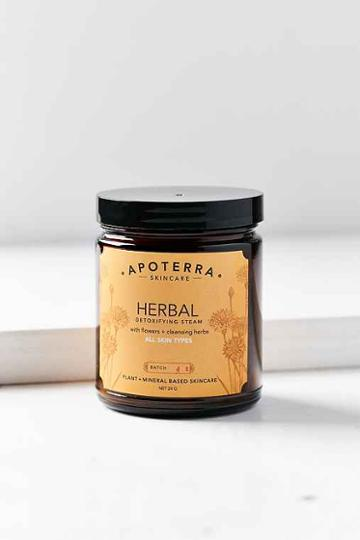 Urban Outfitters Apoterra Skincare Herbal Detoxifying Steam,assorted,one Size