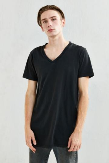 Rolla's Rolla's Long Line V-neck Tee