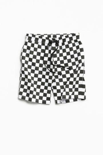 Urban Outfitters Uo Checkerboard Knit Short