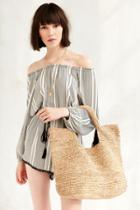 Urban Outfitters Ecote Raffia Tote Bag