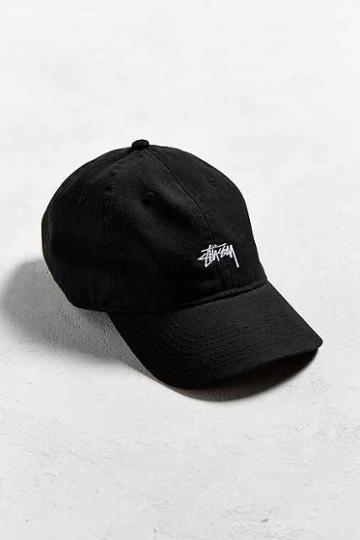 Urban Outfitters Stussy Dad Hat,black,one Size