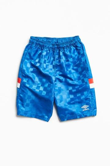 Urban Outfitters Umbro Checkerboard Short