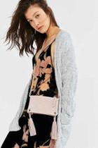 Urban Outfitters Lucca Ring Crossbody Bag,pink,one Size