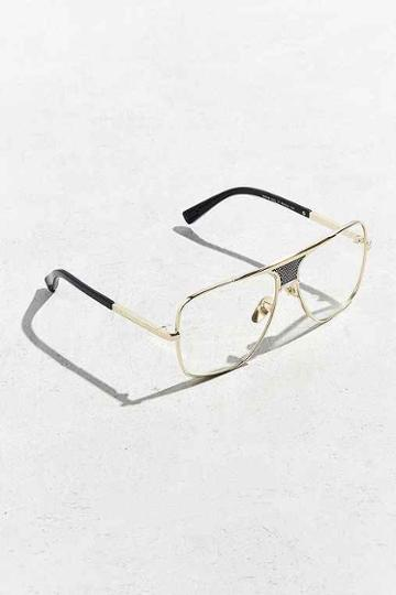 Urban Outfitters Roial Tarantino Readers,gold,one Size