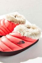 Urban Outfitters The North Face Tent Mule Slipper,coral,xs
