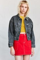 Urban Outfitters Vintage Guess By Marciano '80s Black Denim Jacket