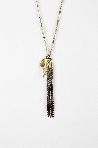 Brooklyn Charm Tassle Necklace