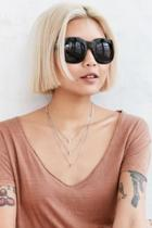 Urban Outfitters Surrey Square Sunglasses