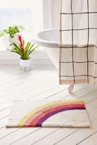 Urban Outfitters Rainbow Bath Mat,multi,one Size