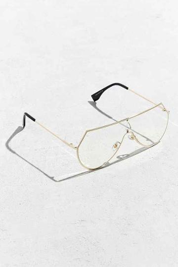 Urban Outfitters Roial Terelli Readers,gold,one Size