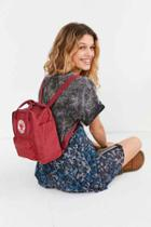 Urban Outfitters Fjallraven Kanken Mini Backpack,red,one Size