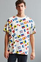 Urban Outfitters Uo Carlton Printed Dad Tee