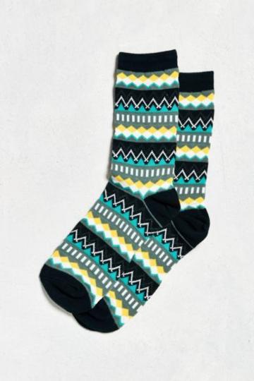 Urban Outfitters Geo Isle Sock