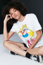 Urban Outfitters Sailor Moon Tee,white,l