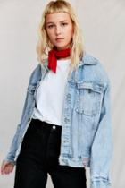Urban Outfitters Vintage Guess '90s Light Wash Denim Jacket