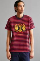 Staple Stripe Fleece Crew Neck Sweatshirt