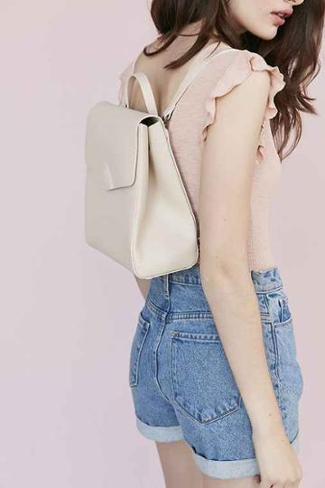Urban Outfitters Vereverto Mini Macta Backpack,white,one Size