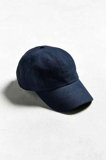 Urban Outfitters Uo Curved Brim Baseball Hat,navy,one Size