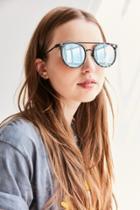 Quay Kandygram Round Sunglasses