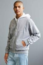 Urban Outfitters Uo Banks Jacket,grey,m