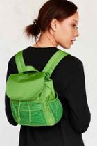 Urban Outfitters Brianna Mini Backpack,green,one Size