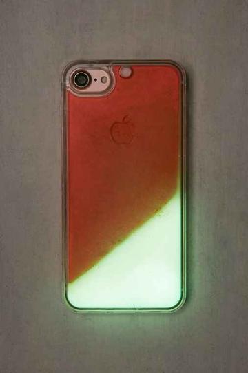 Urban Outfitters Glitter + Glow Orange Glitter Iphone 6/6s Case,orange,one Size