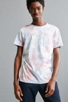 Urban Outfitters Uo Standard Fit Cloudy Tie-dye Tee