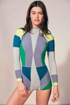 Urban Outfitters Cynthia Rowley Wetsuit,multi,m