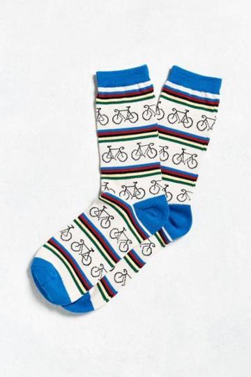 Urban Outfitters Bike Stripe Sock