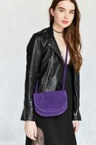 Urban Outfitters Natalie Double Pouch Crossbody Bag,purple,one Size