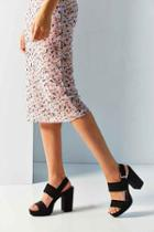Urban Outfitters Platform Heel,black,us 11/eu 41