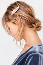 Urban Outfitters Feathered Hair Clip