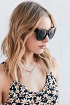 Urban Outfitters Racetrack Chunky Square Sunglasses