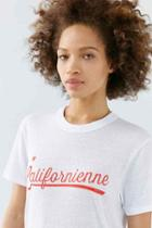Urban Outfitters Chrldr Califorienne Tee,black,m